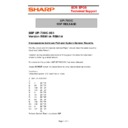 Sharp UP-600, UP-700 (serv.man51) Technical Bulletin