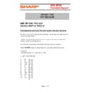 Sharp UP-600, UP-700 (serv.man52) Technical Bulletin