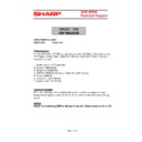 Sharp UP-600, UP-700 (serv.man55) Technical Bulletin