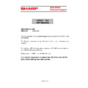Sharp UP-600, UP-700 (serv.man58) Technical Bulletin