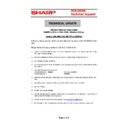 Sharp UP-600, UP-700 (serv.man59) Technical Bulletin