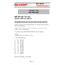 Sharp UP-600, UP-700 (serv.man60) Technical Bulletin