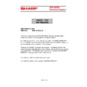Sharp UP-600, UP-700 (serv.man62) Technical Bulletin