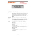 Sharp XE-A203 (serv.man13) Technical Bulletin