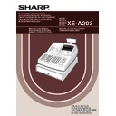 Sharp XE-A203 (serv.man7) User Guide / Operation Manual