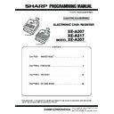 Sharp XE-A207 (serv.man2) Service Manual