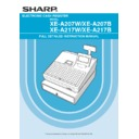 Sharp XE-A207 (serv.man6) User Guide / Operation Manual