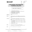 Sharp DOS HOSPITALITY (serv.man44) Technical Bulletin