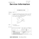 Sharp OPTIONS (serv.man21) Technical Bulletin
