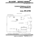 Sharp OPTIONS (serv.man5) Service Manual