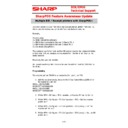 Sharp SHARP POS SOFTWARE V4 (serv.man11) Handy Guide