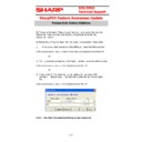 Sharp SHARP POS SOFTWARE V4 (serv.man14) Handy Guide