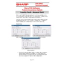 Sharp SHARP POS SOFTWARE V4 (serv.man15) Handy Guide