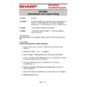 Sharp SHARP POS SOFTWARE V4 (serv.man160) Technical Bulletin