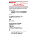 Sharp SHARP POS SOFTWARE V4 (serv.man18) Handy Guide