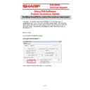 Sharp SHARP POS SOFTWARE V4 (serv.man4) Handy Guide