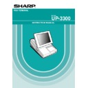 Sharp UP-3300 (serv.man19) User Guide / Operation Manual