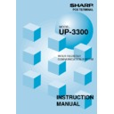 Sharp UP-3300 (serv.man20) User Guide / Operation Manual