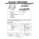 Sharp UP-3500 (serv.man31) Parts Guide