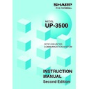 Sharp UP-3500 (serv.man32) User Guide / Operation Manual