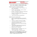 Sharp VENTA PRO V3 (serv.man3) Handy Guide