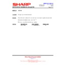 Sharp AX-1100(R)M, AX-1100(SL)M (serv.man16) Technical Bulletin