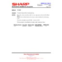 Sharp R-1900M (serv.man15) Technical Bulletin