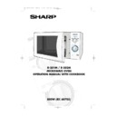 Sharp R-201 (serv.man6) User Guide / Operation Manual