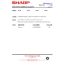 Sharp R-201 (serv.man9) Technical Bulletin