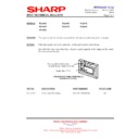 Sharp R-2395G (serv.man4) Technical Bulletin