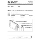 Sharp R-2395G (serv.man6) Technical Bulletin