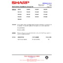Sharp R-4G17M Technical Bulletin