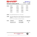 Sharp R-4G75M (serv.man12) Technical Bulletin