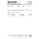 Sharp R-4G75M (serv.man13) Technical Bulletin