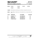 Sharp R-4G75M (serv.man14) Technical Bulletin