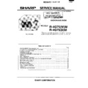 Sharp R-4G75M (serv.man8) Service Manual