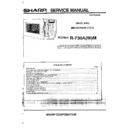 Sharp R-730AM (serv.man13) Service Manual