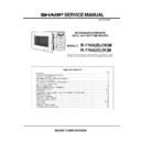 Sharp R-770AM Service Manual