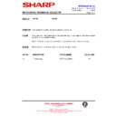 Sharp R-772M (serv.man13) Technical Bulletin