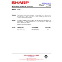 Sharp R-772M (serv.man14) Technical Bulletin