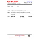 Sharp R-772M (serv.man16) Technical Bulletin