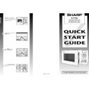 Sharp R-772M (serv.man3) User Guide / Operation Manual