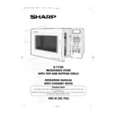 Sharp R-772M (serv.man4) User Guide / Operation Manual