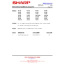 Sharp R-772M (serv.man5) Technical Bulletin