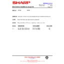 Sharp R-772M (serv.man8) Technical Bulletin