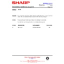 Sharp R-772M (serv.man9) Technical Bulletin