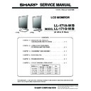 Sharp LL-171A Service Manual