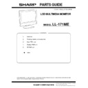 Sharp LL-171ME (serv.man4) Parts Guide
