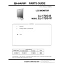 Sharp LL-172G (serv.man2) Parts Guide