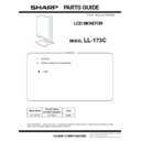 Sharp LL-173C (serv.man2) Parts Guide